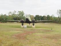 平面空军c-130飞行 免版税库存照片
