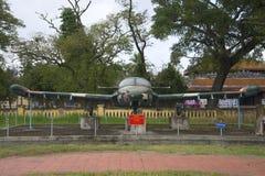 平面赛斯纳A-37蜻蜓正面图 城市博物馆,颜色 免版税图库摄影