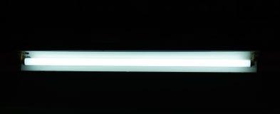 平直的荧光灯 库存图片