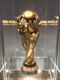2018年世界杯足球赛winner's战利品 库存图片