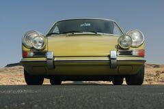 1967年保时捷911正面图 免版税库存照片