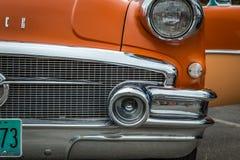 1956年别克专辑小轿车 免版税库存照片
