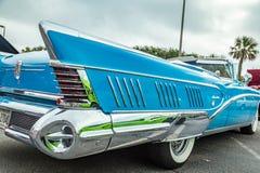 1958年别克有限的敞篷车 免版税库存照片