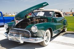 1948年别克超级汽车 免版税库存照片