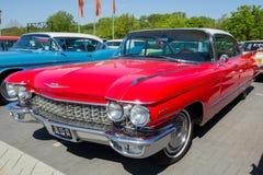 1960年卡迪拉克系列62经典之作汽车 免版税库存照片