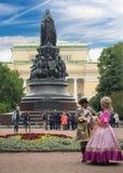 15 06 2017年圣彼德堡 圣彼德堡俄罗斯视图  免版税图库摄影