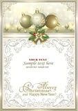 2019年圣诞快乐和新年快乐 圣诞节装饰生态学木 免版税库存照片