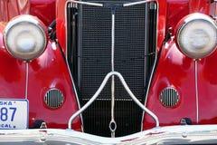 1936年在车展的福特小轿车 免版税库存图片