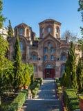 10 03 2018年塞萨罗尼基,希腊-贴水Th的Panteleimon教会 库存照片