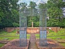 1787年墓地创建其lvov lychakiv军人乌克兰 图库摄影