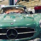 1955年奔驰车300 SL 库存照片
