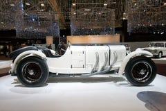 1928年奔驰车SSK经典汽车 免版税图库摄影