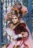 2019年威尼斯狂欢节 免版税库存图片