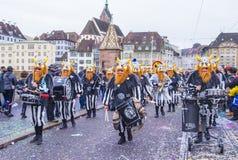 2017年巴塞尔狂欢节 免版税库存图片