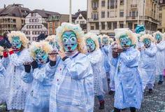 2017年巴塞尔狂欢节 免版税库存照片
