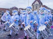 2017年巴塞尔狂欢节 库存图片