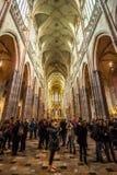 24 01 2018年布拉格,捷克Rebublic -在历史的S里面的一个看法 免版税库存图片