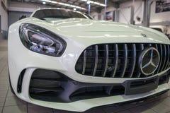 2017年广义相对论的奔驰车AMG 免版税库存照片