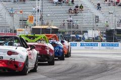 2017年本田Indycar系列种族在多伦多 库存图片