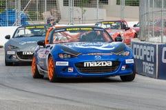 2017年本田Indycar系列种族在多伦多 图库摄影