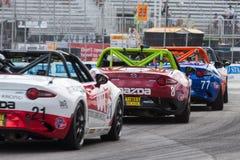 2017年本田Indycar系列种族在多伦多 免版税库存照片
