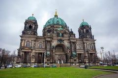 25 01 2018年柏林,德国-历史的柏林C美丽的景色  免版税库存图片