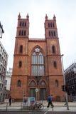 25 01 2018年柏林,德国-新哥特式Friedrichswerder教会 库存照片