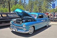 1950年水星驾驶低底盘汽车兜风者轿车 免版税库存照片
