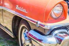 1956年水星Montclair轿车 免版税图库摄影