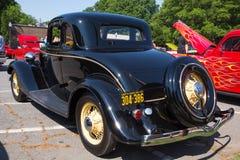 1934年福特小轿车汽车 免版税库存图片