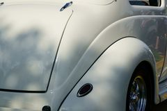 1937年福特小轿车 库存照片
