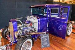 1930年福特旧车改装的高速马力汽车汽车 免版税库存图片