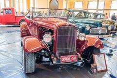 1931年福特旧车改装的高速马力汽车汽车 库存照片