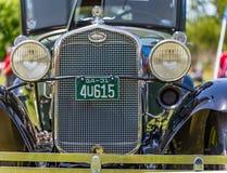 1931年福特模型小轿车 库存照片