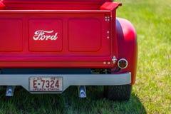 1949年福特F1卡车 库存照片