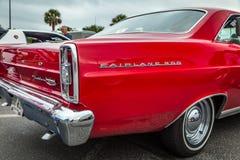 1966年福特Fairlane 500 Hardtop 免版税库存照片