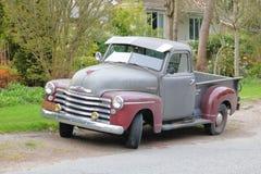 1950年薛佛列汽车卡车 免版税库存图片