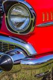 1957年薛佛列贝莱尔小轿车 库存照片
