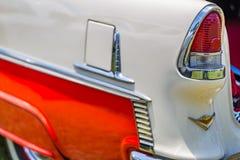 1955年薛佛列贝莱尔小轿车 库存图片