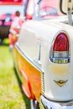 1955年薛佛列贝莱尔小轿车 免版税库存图片