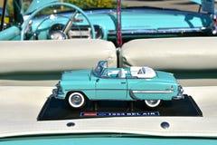 1954年薛佛列贝莱尔敞篷车 免版税图库摄影