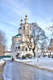 1824年被创办的大教堂工厂意味nevyansk责任人pyatiprestolny石变貌yakovlev 斯摩棱斯克 免版税库存图片
