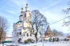 1824年被创办的大教堂工厂意味nevyansk责任人pyatiprestolny石变貌yakovlev 斯摩棱斯克 图库摄影