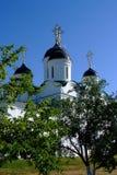 1824年被创办的大教堂工厂意味nevyansk责任人pyatiprestolny石变貌yakovlev 免版税图库摄影
