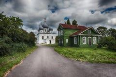 1824年被创办的大教堂工厂意味nevyansk责任人pyatiprestolny石变貌yakovlev 图库摄影