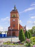 1824年被创办的大教堂工厂意味nevyansk责任人pyatiprestolny石变貌yakovlev Zelenogradsk,加里宁格勒地区 俄国 库存照片