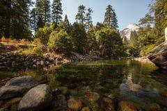 2007年被采取的加利福尼亚1月国家公园美国优胜美地 免版税库存图片