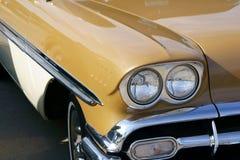 1958年车展雪佛兰 免版税库存图片