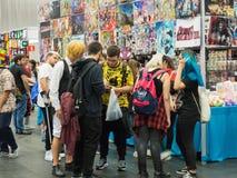 年轻人在日本周末毕尔巴鄂,2018年10月20日 免版税库存图片
