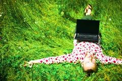 年轻创造性人休息 免版税图库摄影